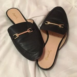 Forever 21 slider on loafers